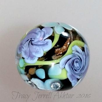 Black Floral Globe2a