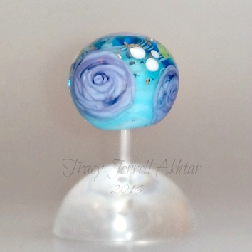 Purple Rose and aqua Globe2a