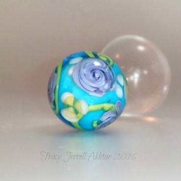 Purple Rose Globe2a