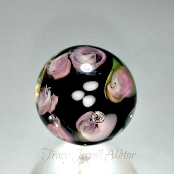 Rose Paperweight Beada