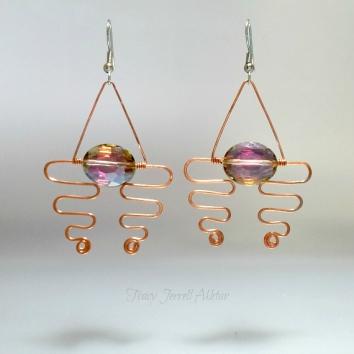 Earrings Abstract