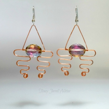 Earrings Abstract